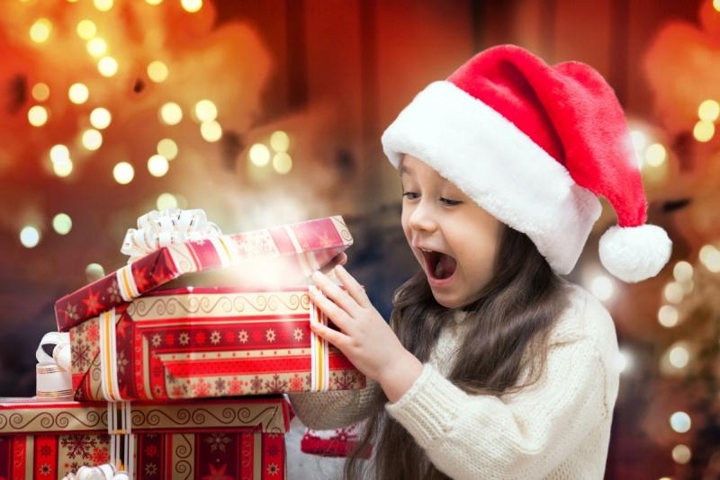 Детские сувениры к новому году