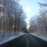 Лесная дорога зимой (Westerwald)