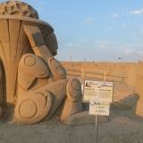 Скульптура из песка (1 место)