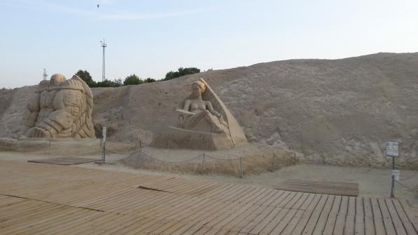 Скульптура из песка 14