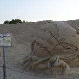 Скульптура из песка 5