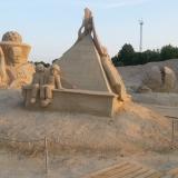 Скульптура из песка 10