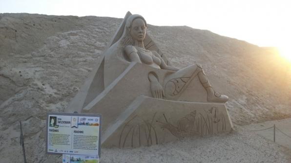 Скульптура из песка (3 место)