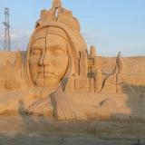 Скульптура из песка 8