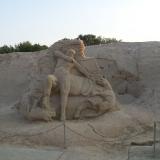 Скульптура из песка 7