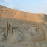 Скульптура из песка 12