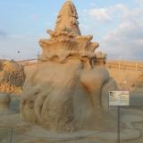 Скульптура из песка 1