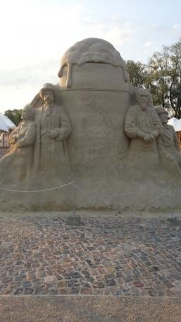 Скульптура из песка 17