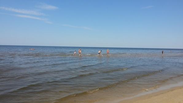 Рижский залив, Юрмала 2015