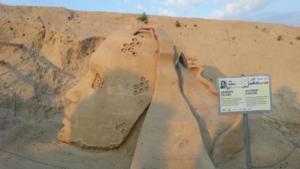 Скульптура из песка 16