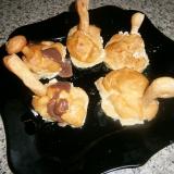 """Заварные пирожные """"Лебеди на пруду"""""""
