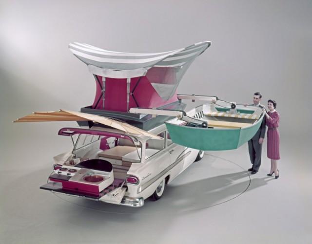 Ford Country Sedan,1958